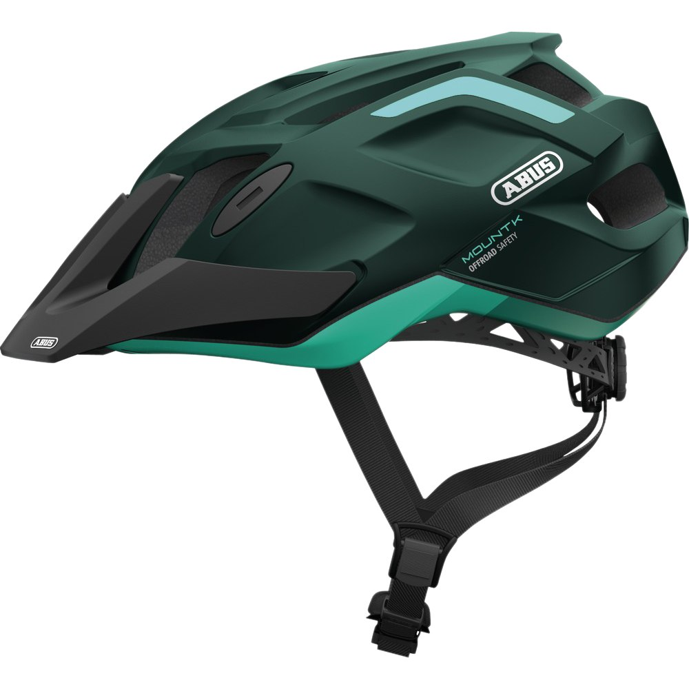ABUS MountK Casco - smaragd green