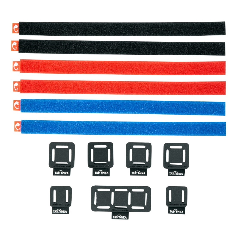 Tatonka Loop Strap & Patch Set - assorted