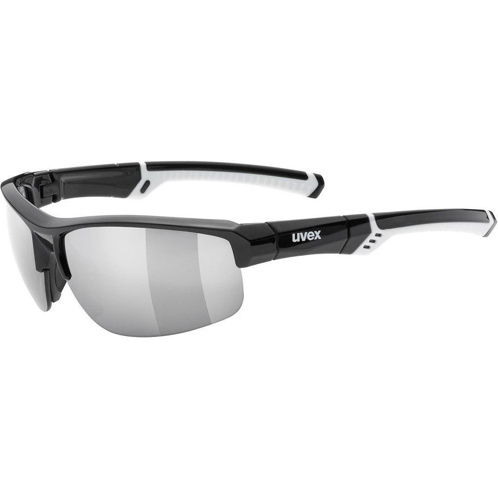 Uvex sportstyle 226 - black white/litemirror silver Brille