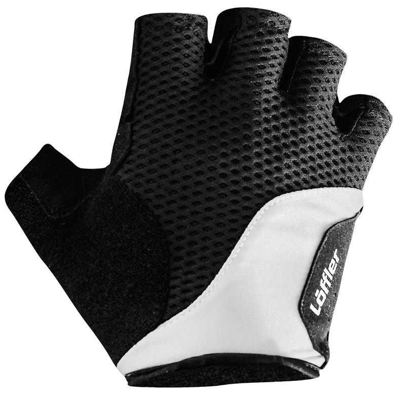 Löffler Bike Gloves Elastic Gel 20025 - white 100