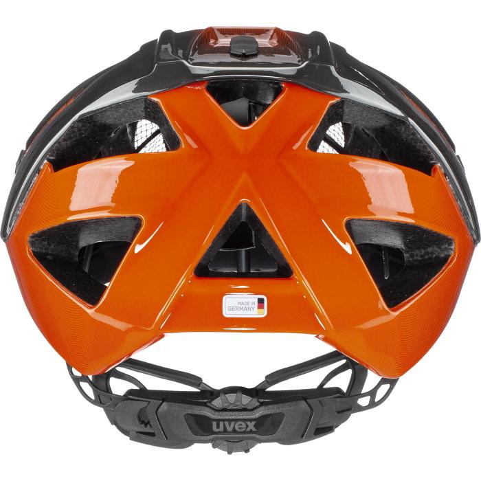 Bild von Uvex quatro Helm - titan - orange