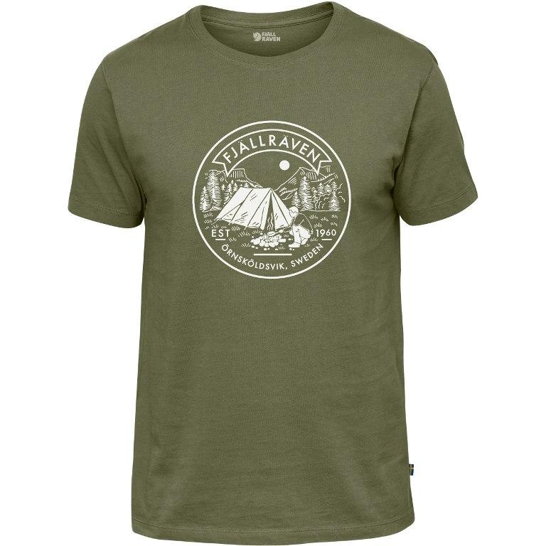 Fjällräven Lägerplats T-Shirt - green