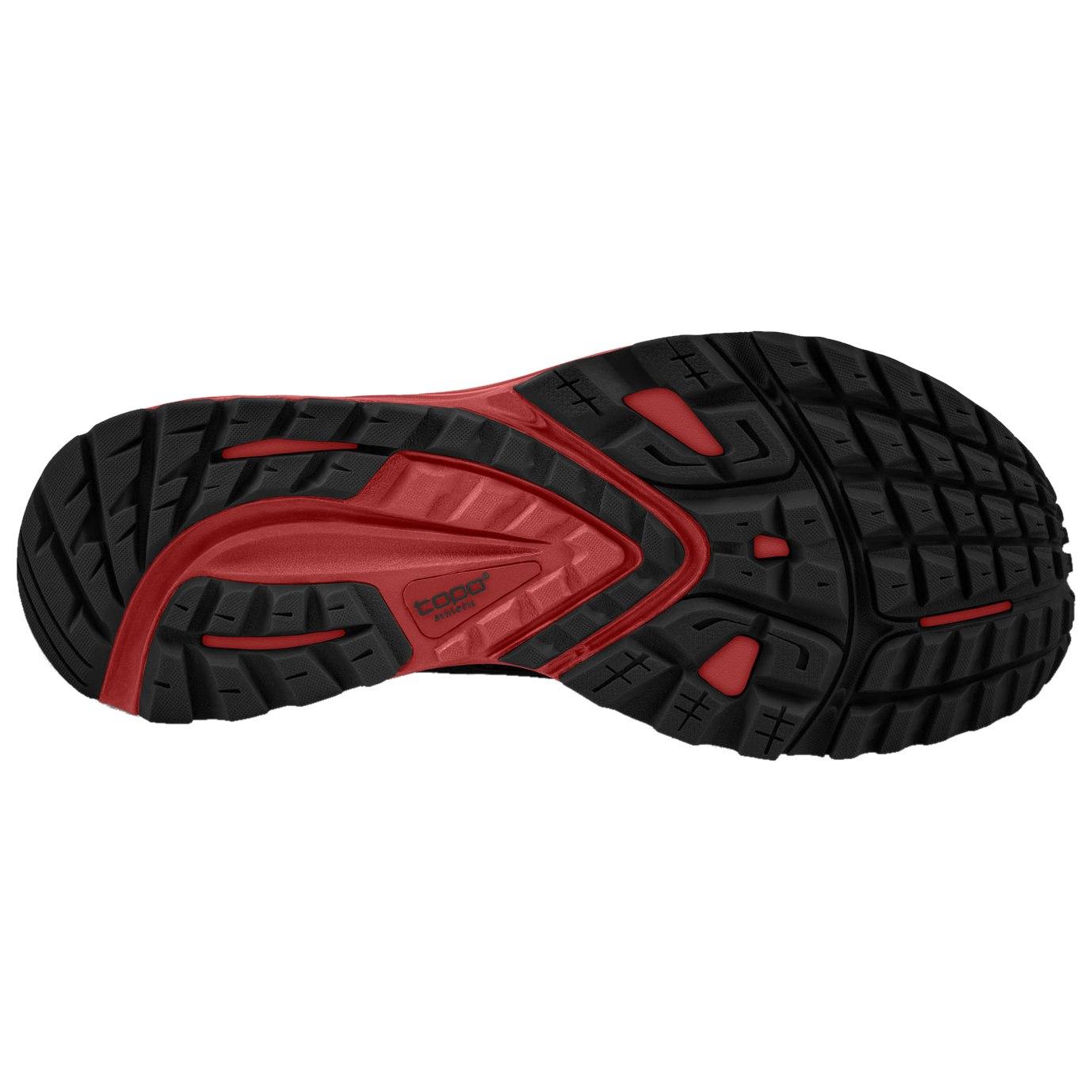 Bild von Topo Athletic MT-3 Trail Laufschuhe - schwarz/rot