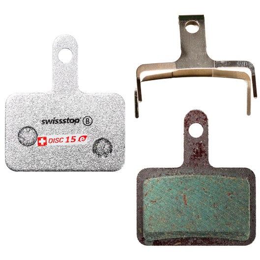 SwissStop Disc 15 E Brake Pads for Shimano / Quad / Tektro / TRP