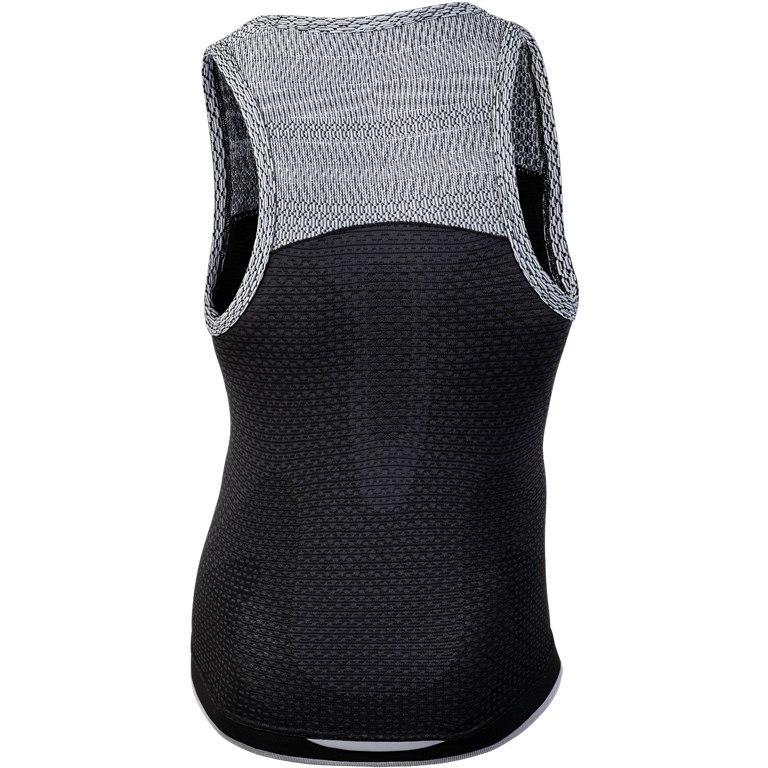 Image of UYN Alpha Running Sleeveless Shirt - Charcoal/Sleet Grey