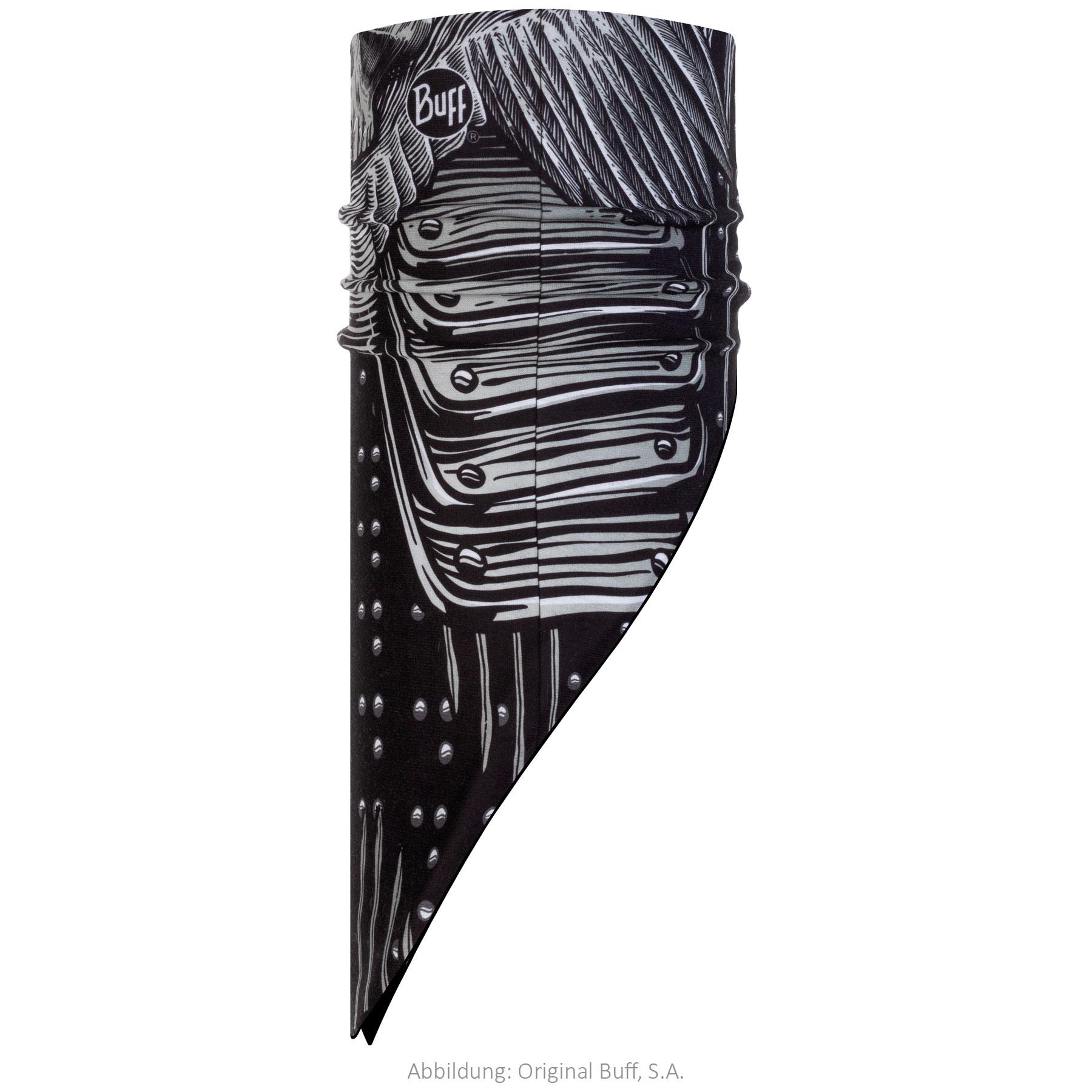 Buff® Polar Bandana - N-Tribe Black/Black Fleece