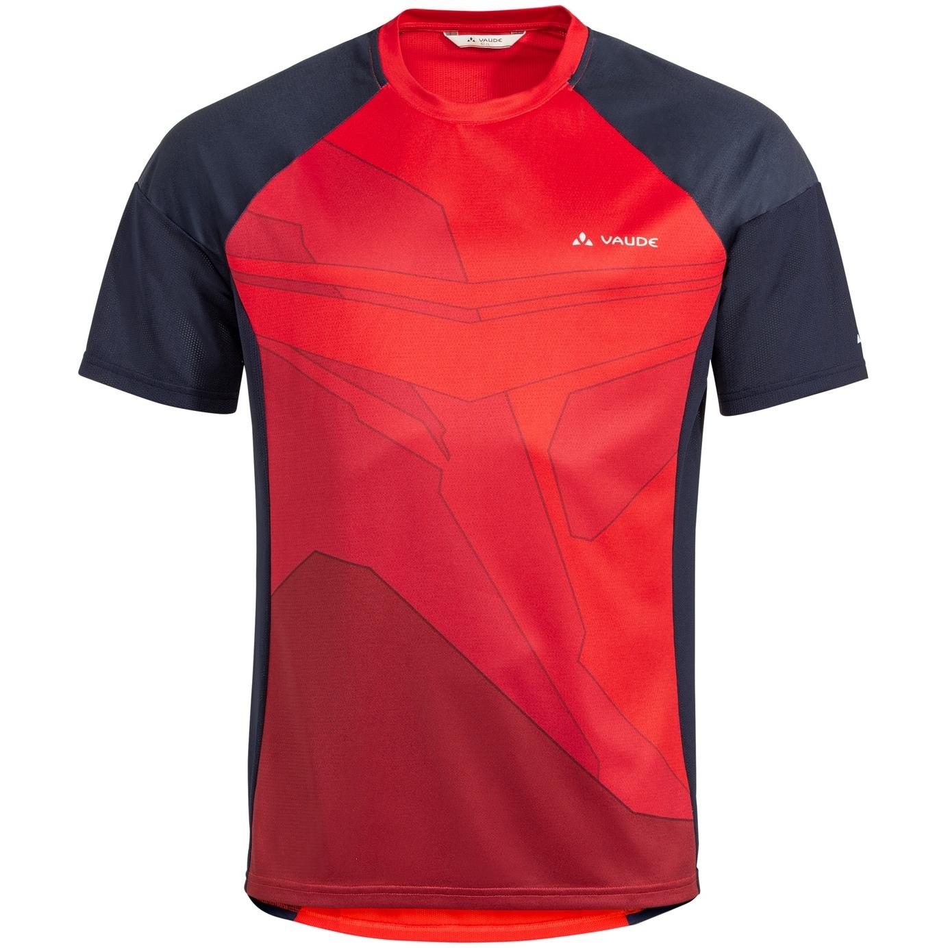 Vaude Moab T-Shirt VI - mars red