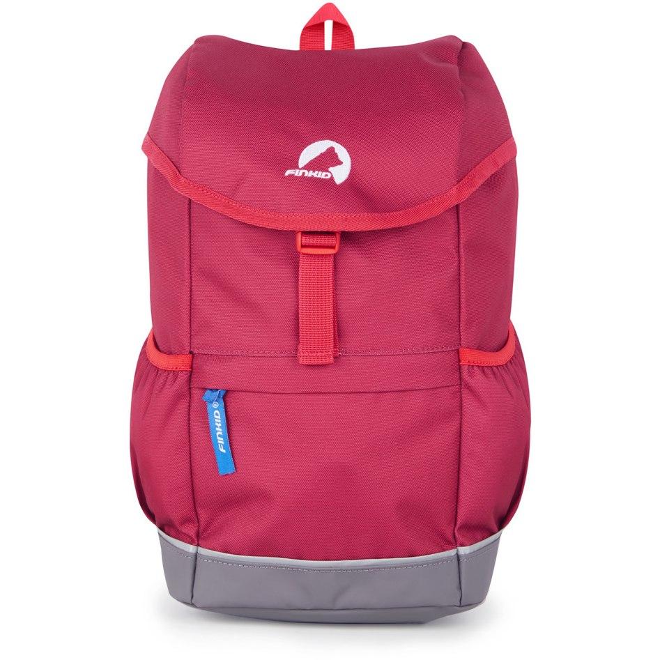 Finkid REPPU 3 Kids Backpack 12L - persian red/red