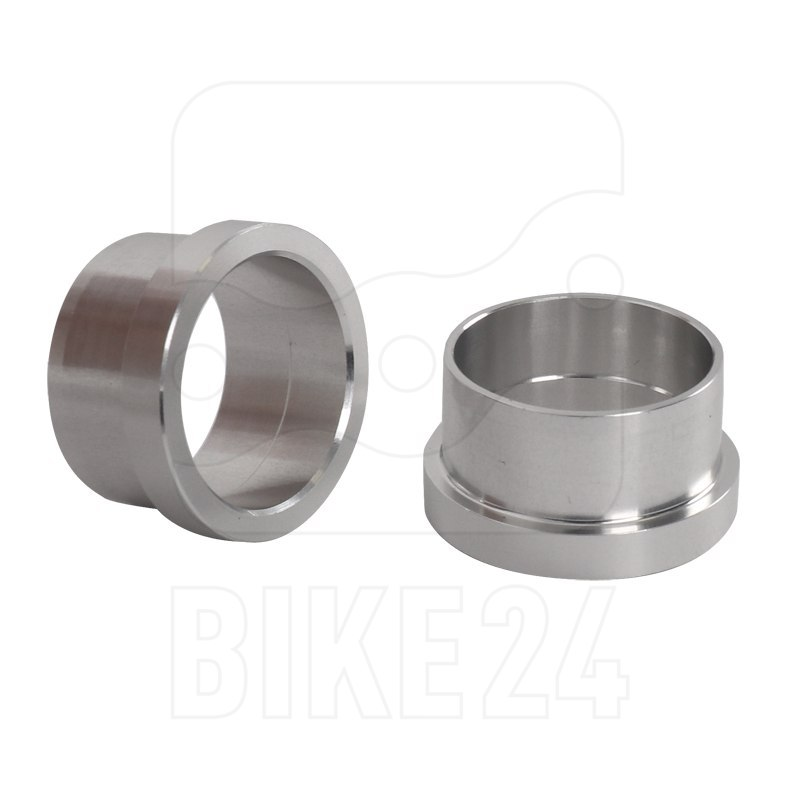 Image of Chris King ISO AB Axle End Caps for 20x110mm Front Hubs - silver