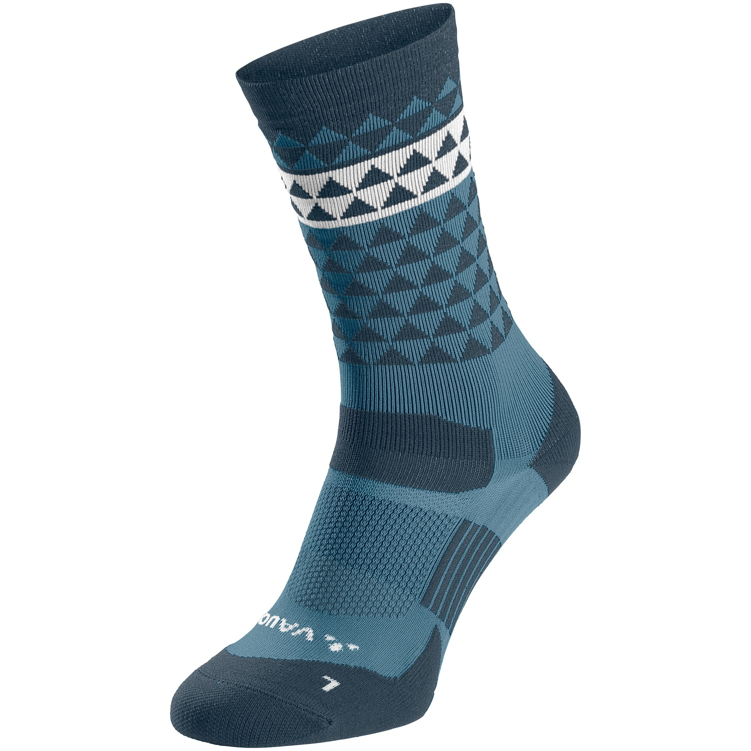 Vaude Bike Socken Mid - blue grey