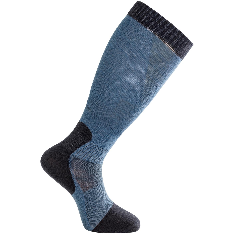 Woolpower Skilled Liner Knee-High Kniestrümpfe - dark navy/nordic blue