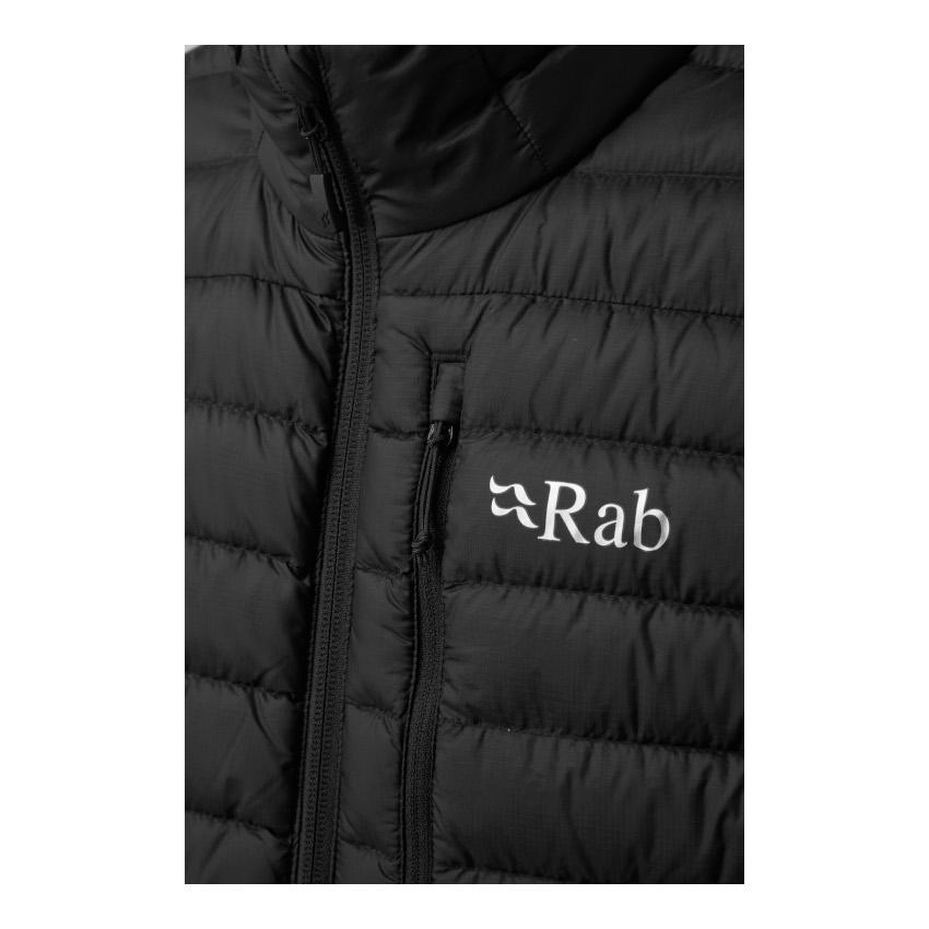 Bild von Rab Microlight Vest Daunenweste QDB-18 - black