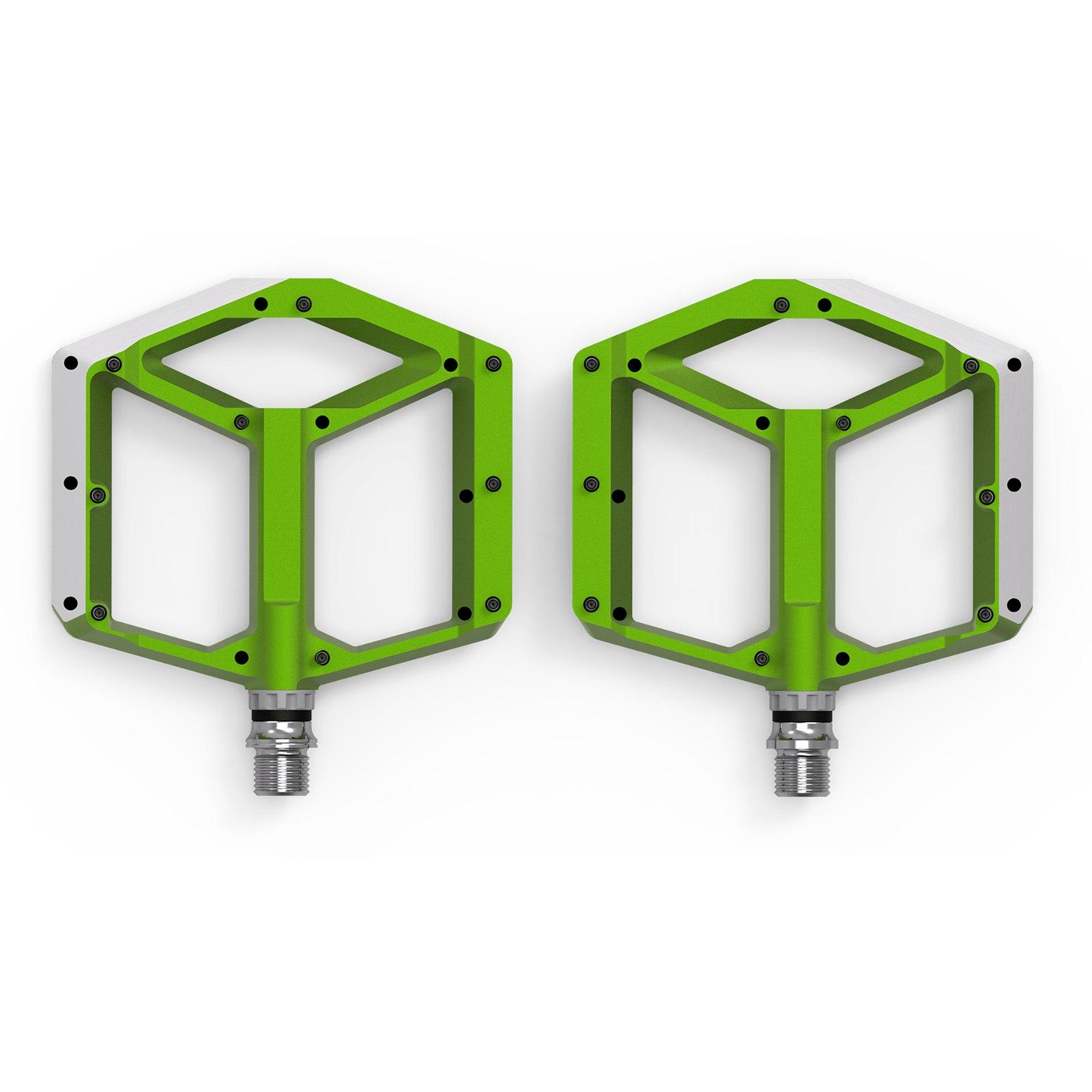 CUBE ACID Pedals FLAT A1-CB - green