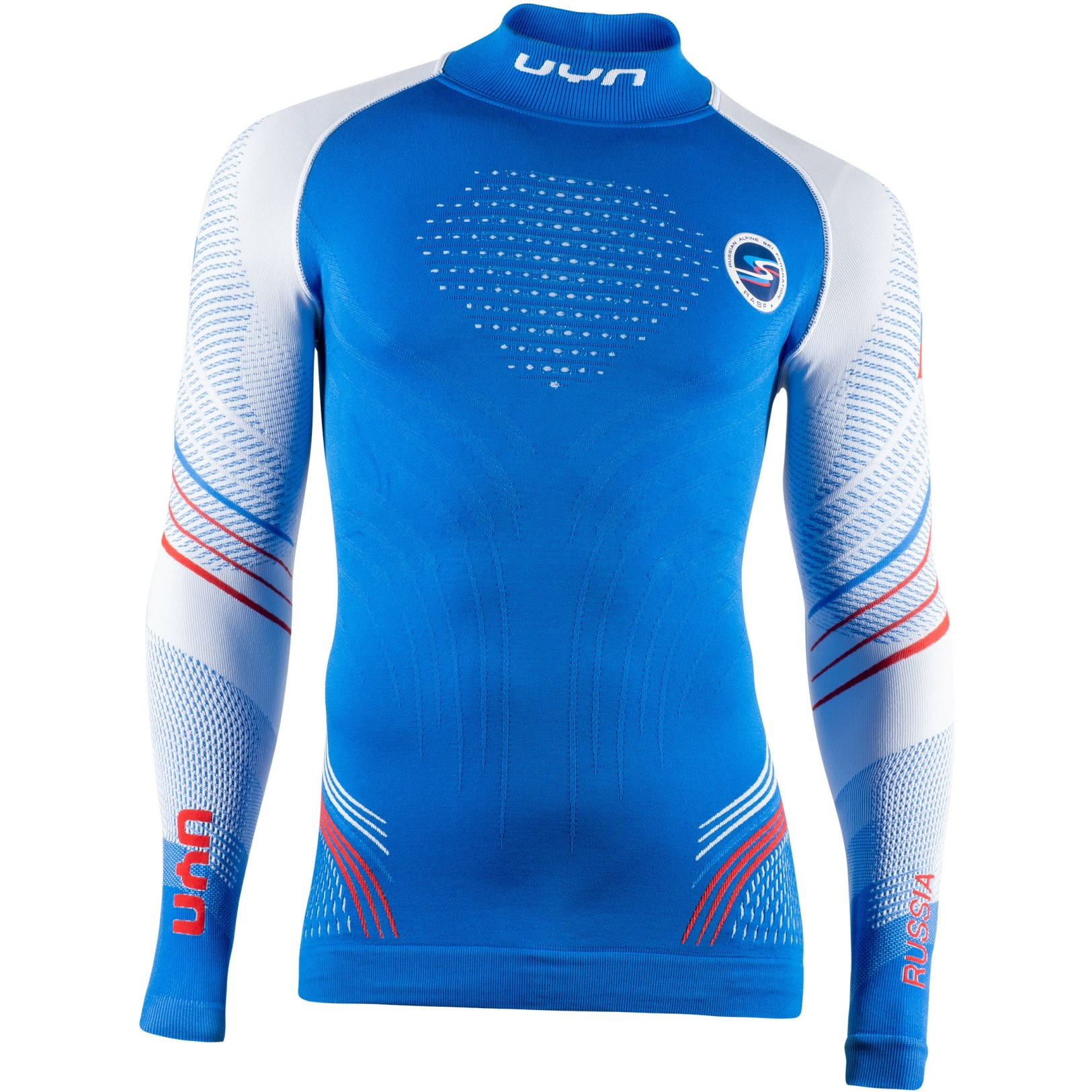 UYN Natyon 2.0 Russia Long Sleeve Turtle Neck Underwear Shirt - Russia