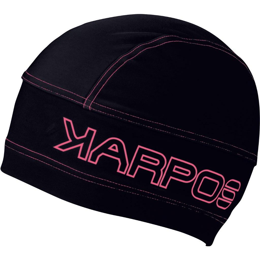 Karpos Alagna Mütze - Black/Pink Fluo