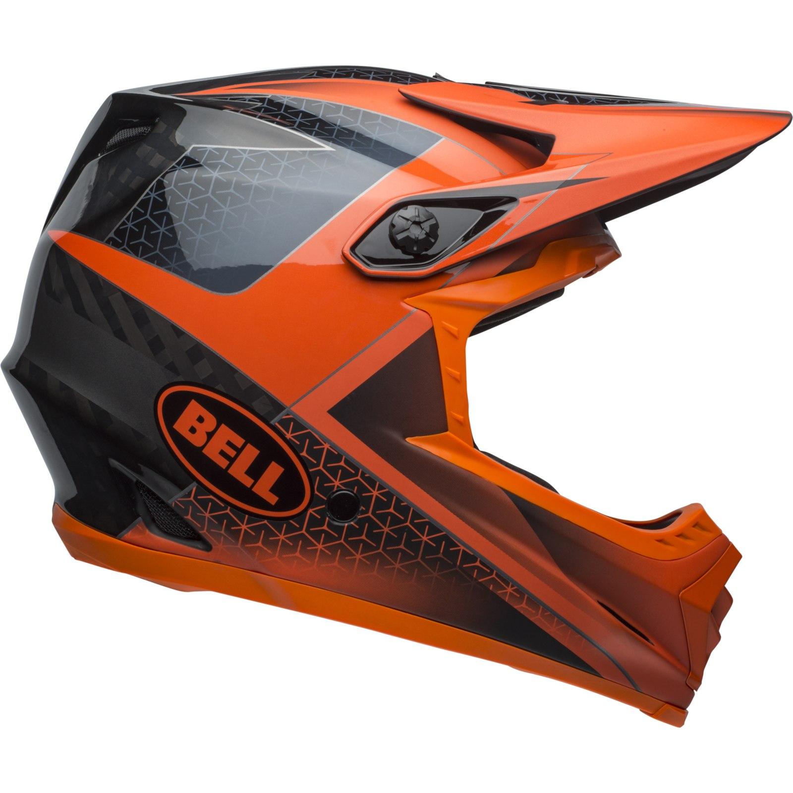 Bell Full-9 Helmet - matte/gloss slate/dark gray/orange