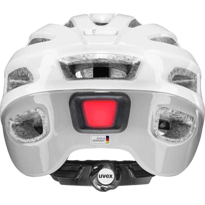 Image of Uvex true Helmet - white - grey