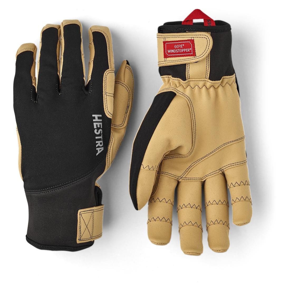 Picture of Hestra Ergo Grip Tactility - 5 Finger Outdoor Gloves - black