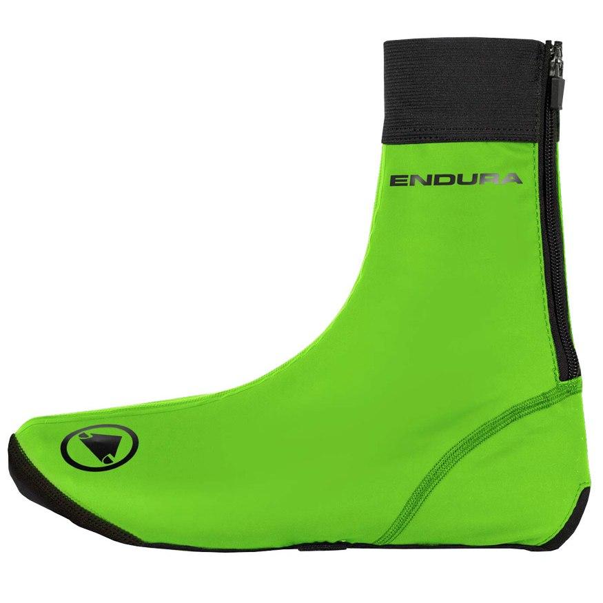 Endura FS260-Pro Slick Overshoe - hi-viz green