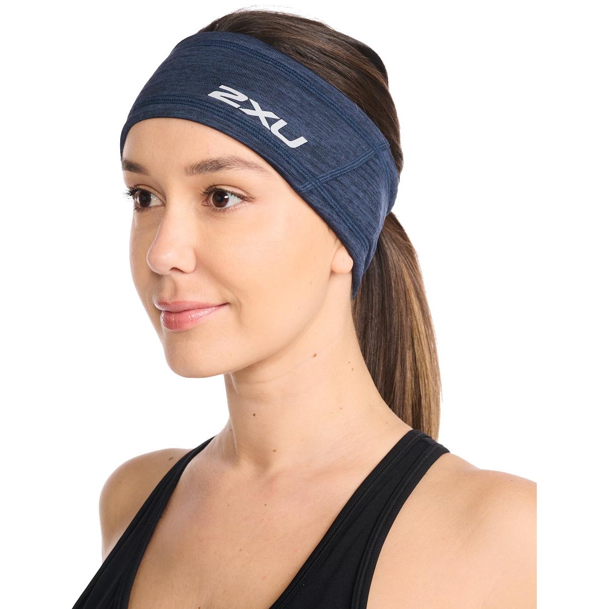 2XU Ignition Headwear Stirnband - midnight/silver reflective