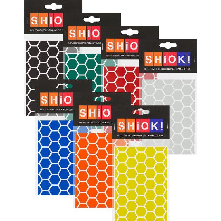 Foto de SHIOK! Reflective Frame Stickers - Honeycomb