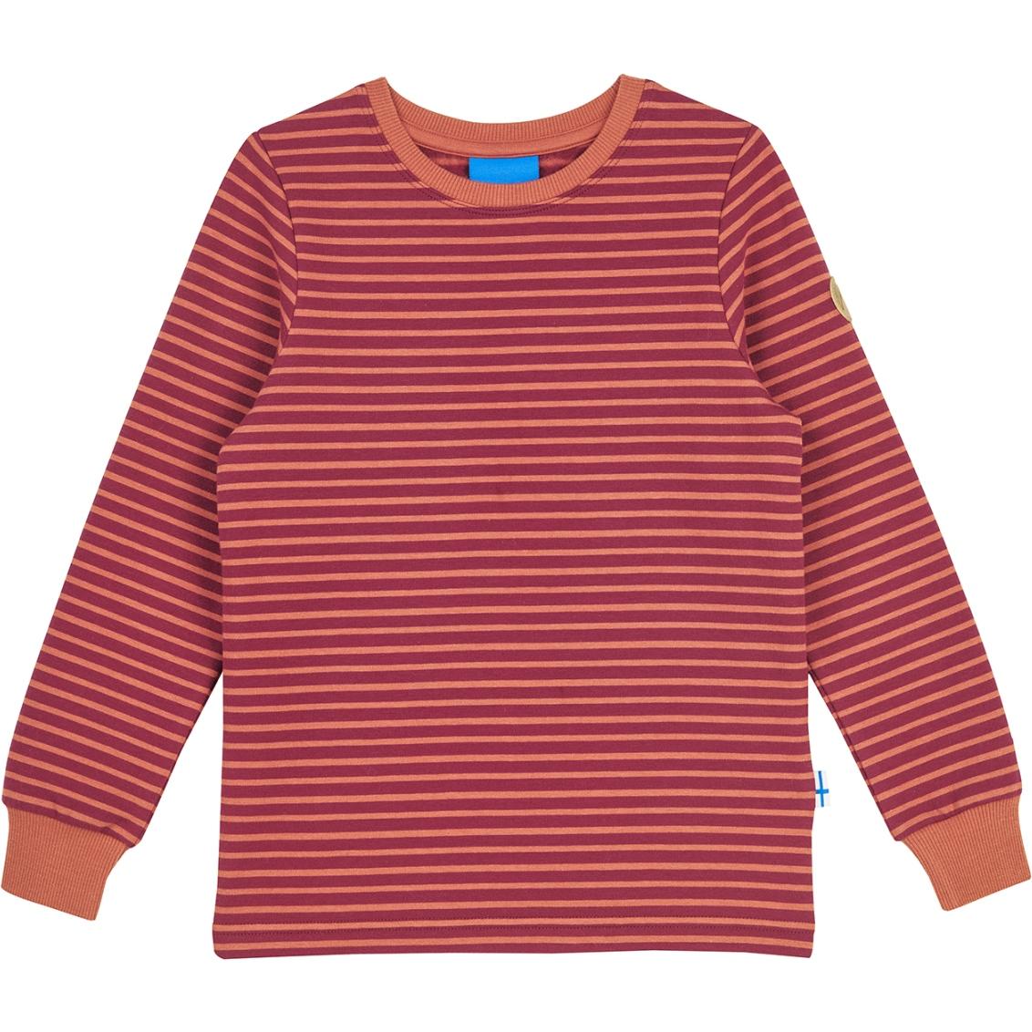 Finkid RIVI Kids Longsleeve Sweat Shirt - beet red/chili
