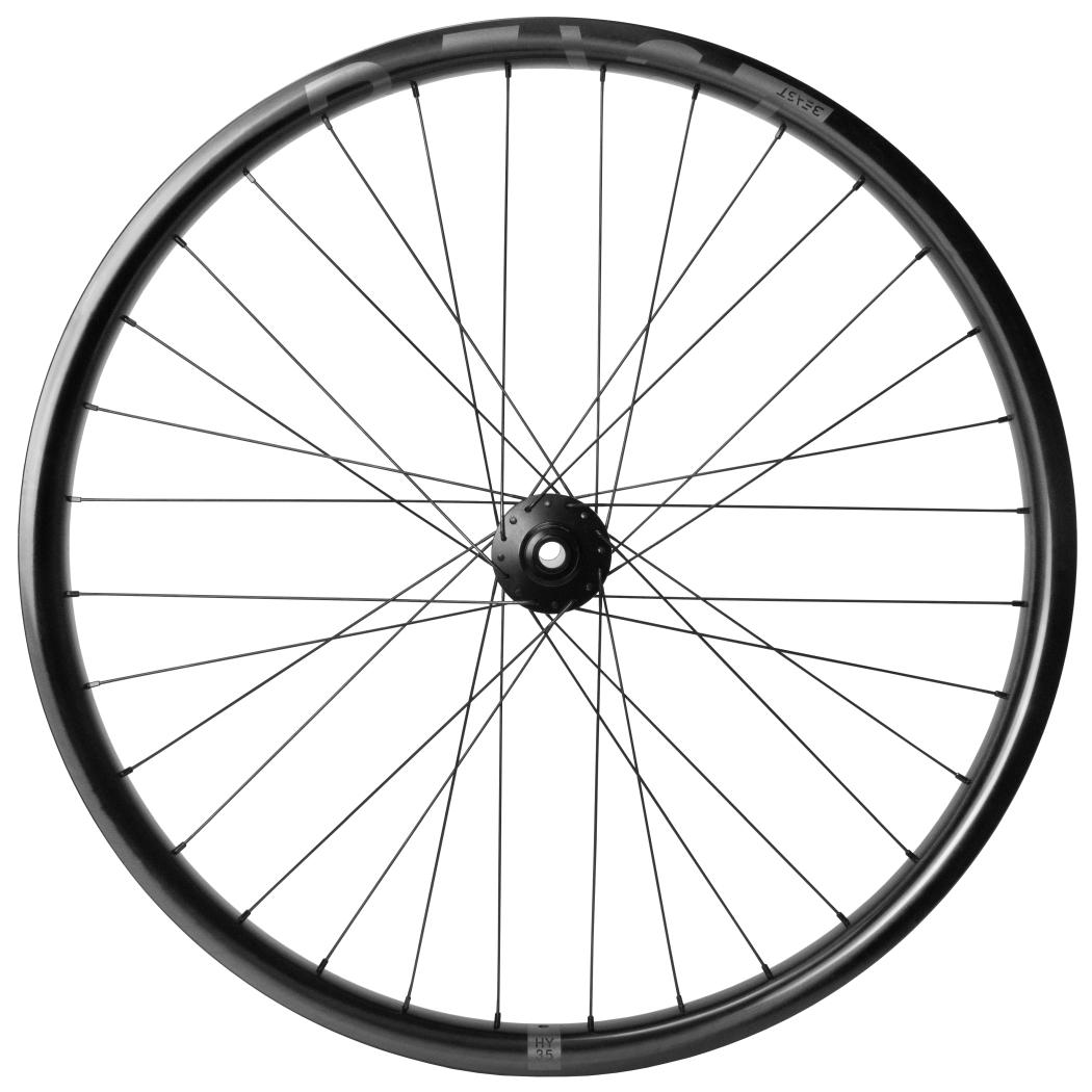 Image of Beast Components HY35 27,5 Inch E-MTB Carbon Wheelset - 6-Bolt - FW: 15x110mm | RW: 12x148mm Boost - Shimano MicroSpline - UD black
