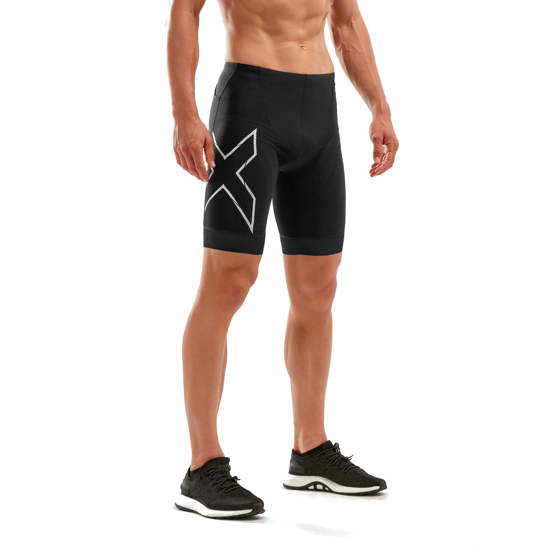 Imagen de 2XU Compression Tri Shorts - black/white