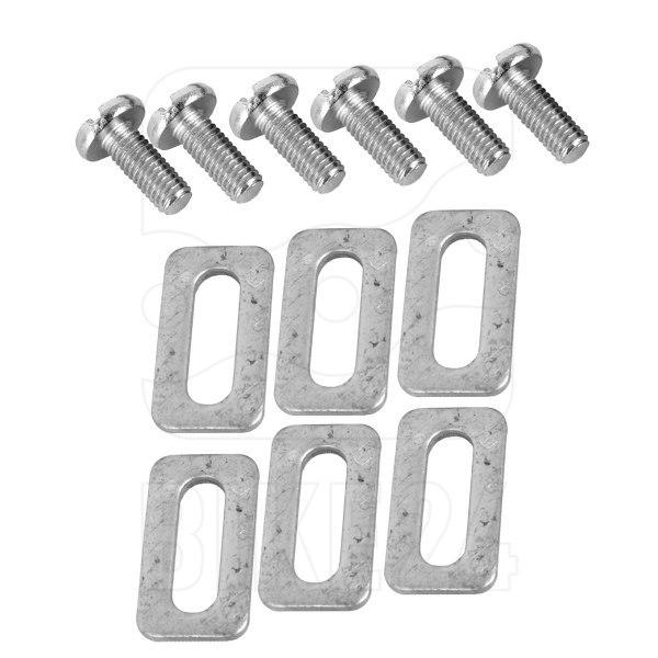 Bild von Xpedo XRC5 9° Cleat Set Pedalplatten