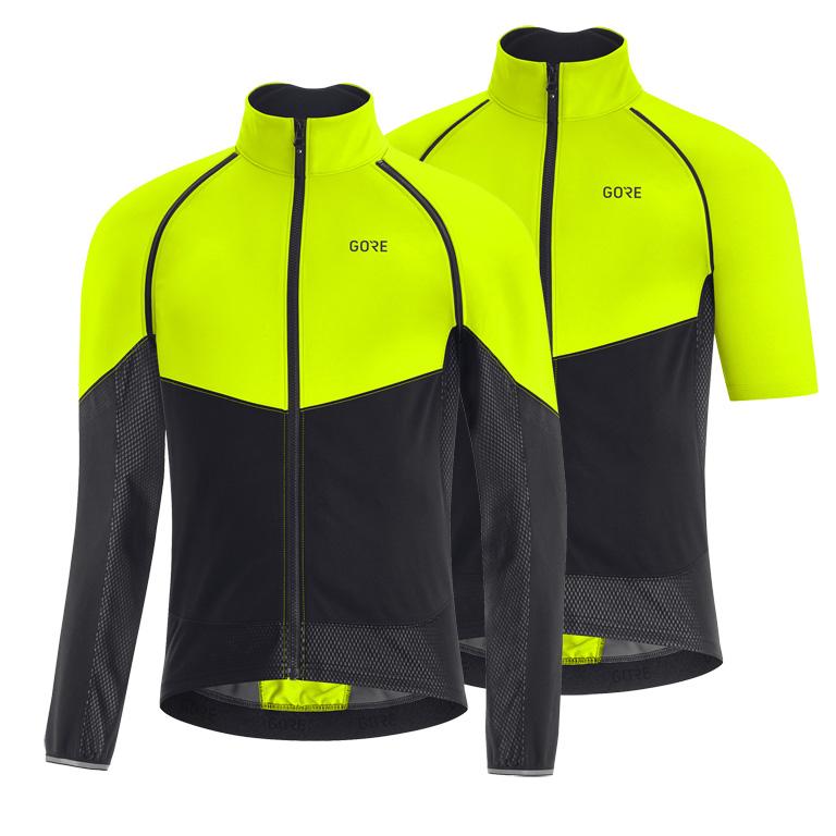 GORE Wear PHANTOM GORE-TEX INFINIUM™ Chaqueta - neon yellow/black 0899