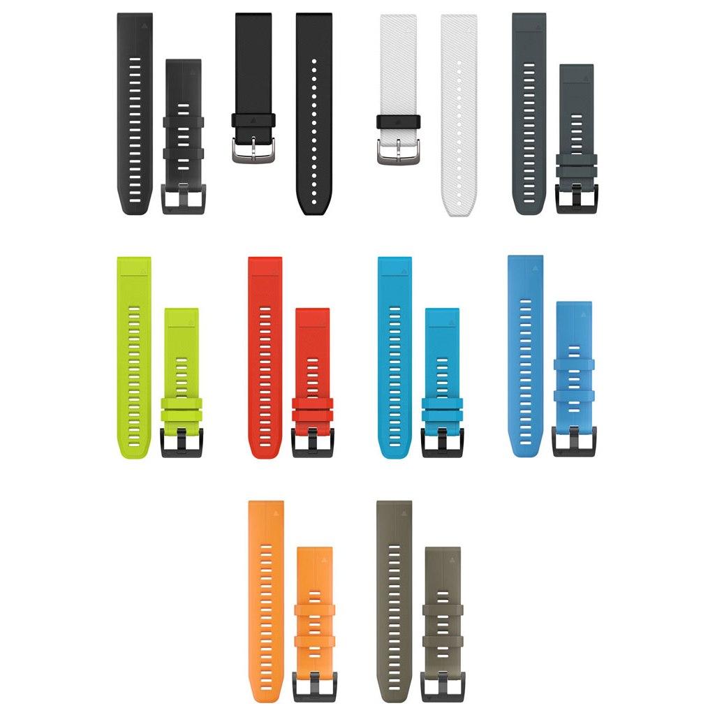 Garmin QuickFit 22 Uhrenarmbänder für fenix 5/6 / Forerunner 935/945 / Instinct - Silikon