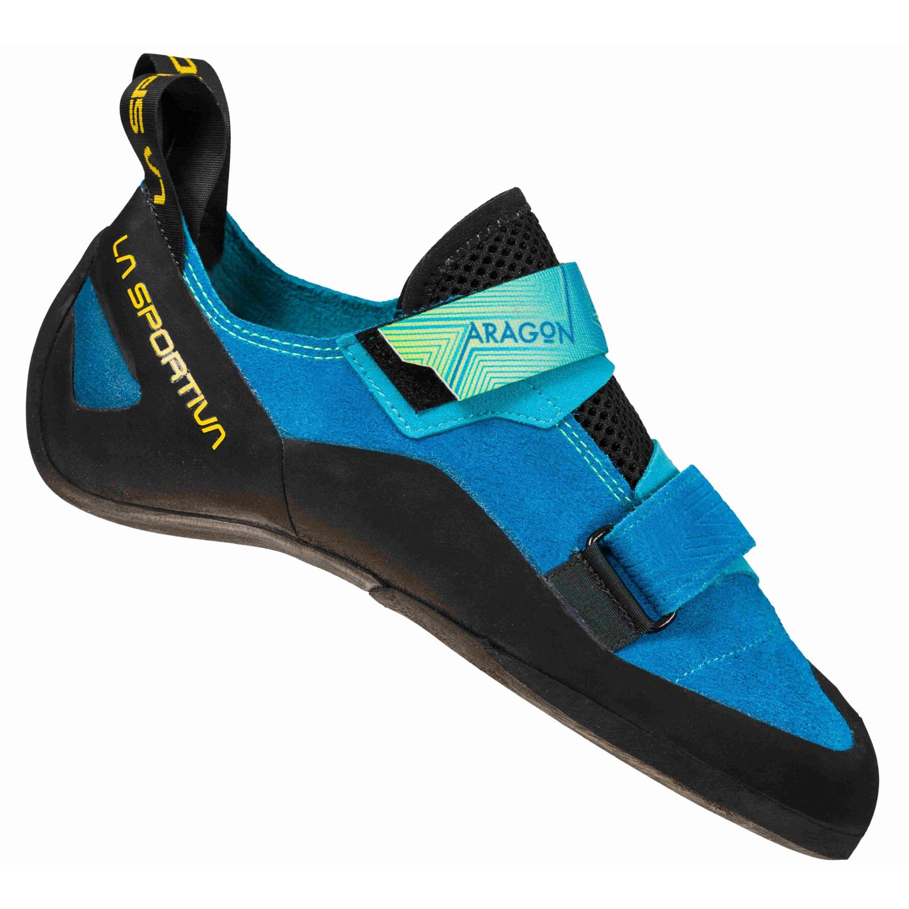 La Sportiva Aragon Climbing Shoes - Neptune/Citrus