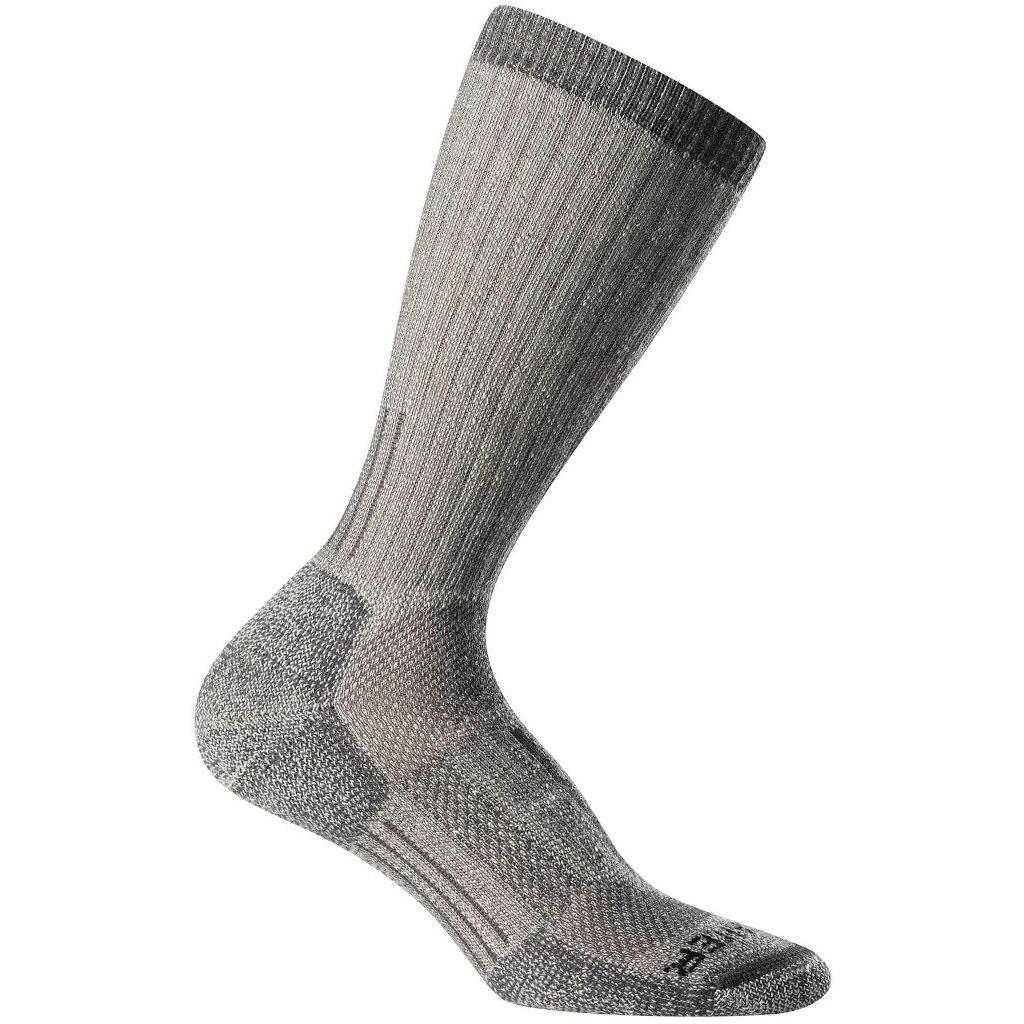 Produktbild von Icebreaker Mountaineer Mid Calf Herren Socken - Natural/Monsoon Heather