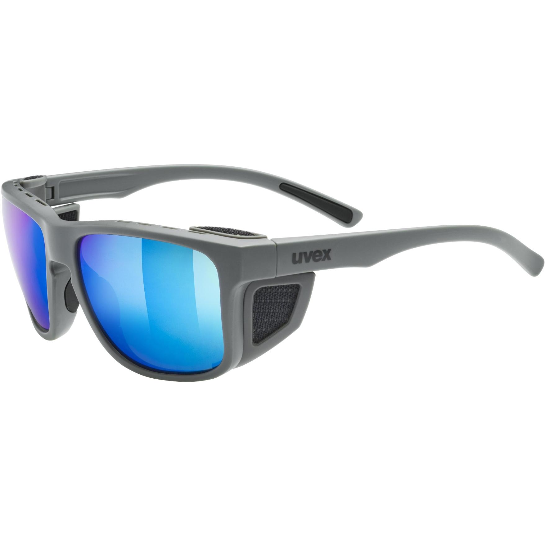 Uvex sportstyle 312 Glasses - rhino mat/mirror blue
