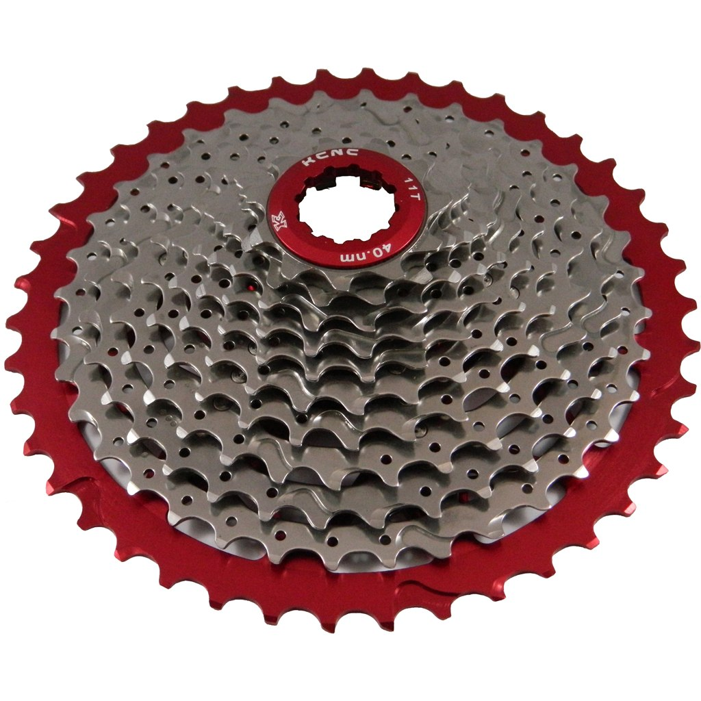 KCNC MTB Stainless Steel Cassette 11-42 for Shimano/SRAM 11-speed