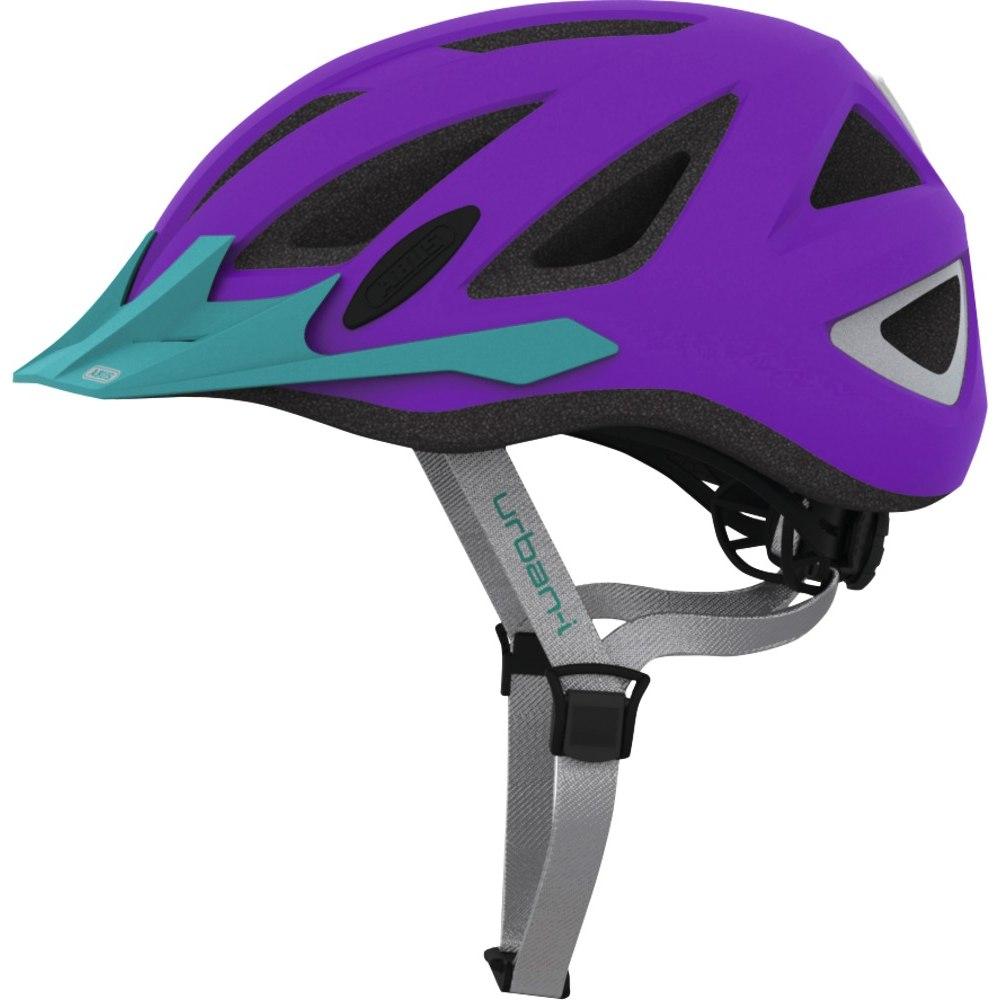 ABUS Urban-I 2.0 Zoom Neon Helmet - purple