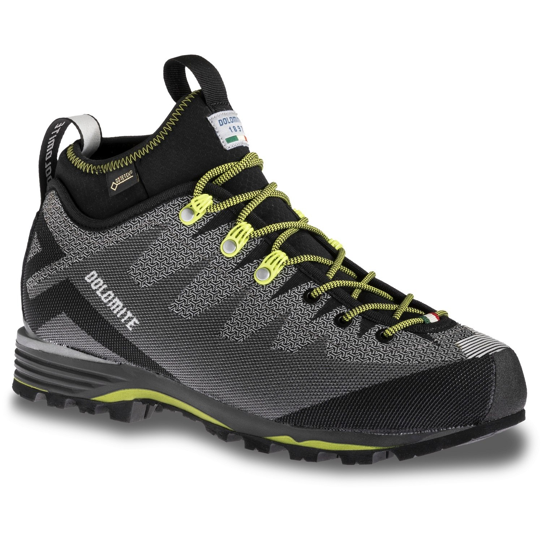 Dolomite Veloce GTX Shoe - pewter grey/green shoot