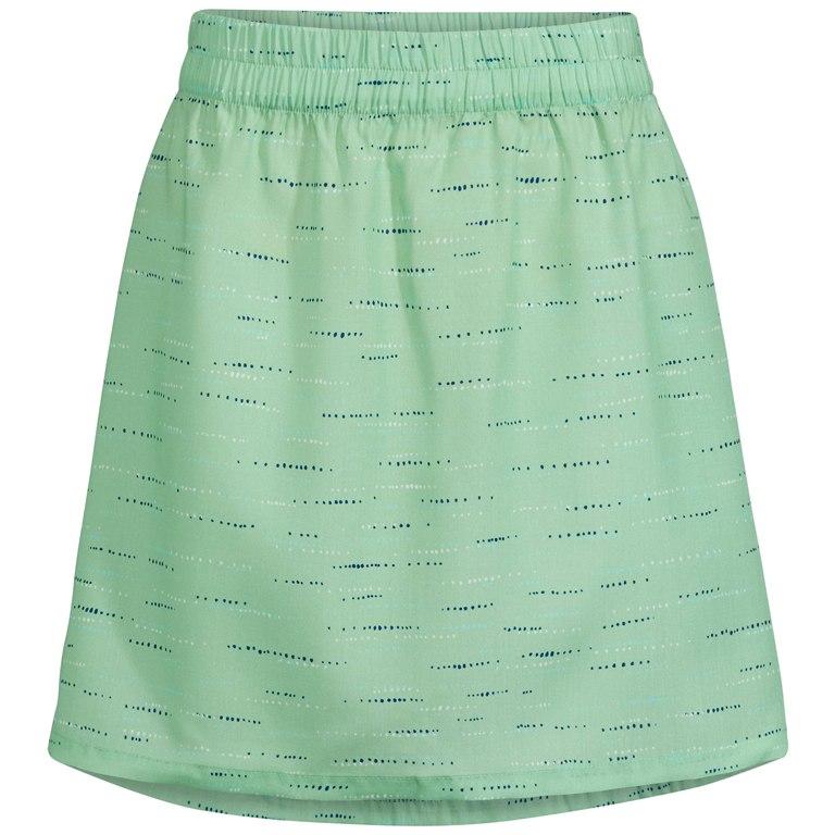 Vaude Women's Lozana AOP Skirt III Rock - may green