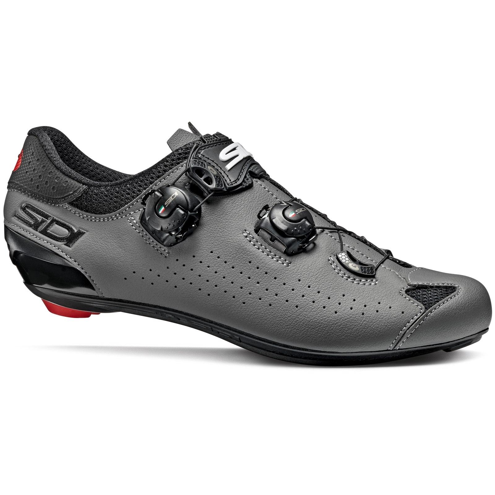 Sidi Genius 10 Zapatillas Ciclismo Carretera - negro/gris