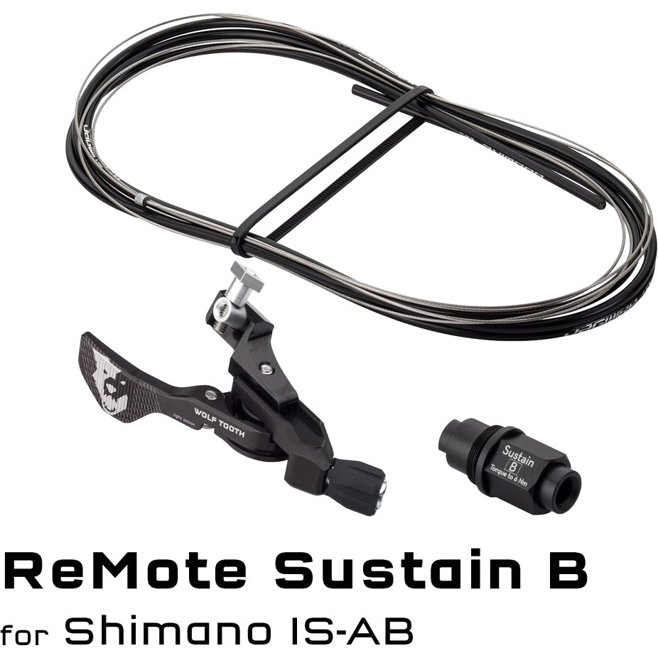 Image of Wolf Tooth ReMote Sustain for RockShox Reverb Stealth Dropper Posts - Remote for Direct Mounting to Shimano Brake Levers
