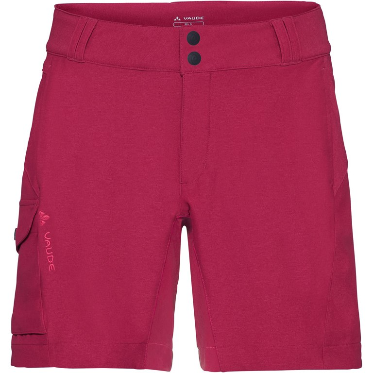 Vaude Women's Tremalzini Shorts - crimson red