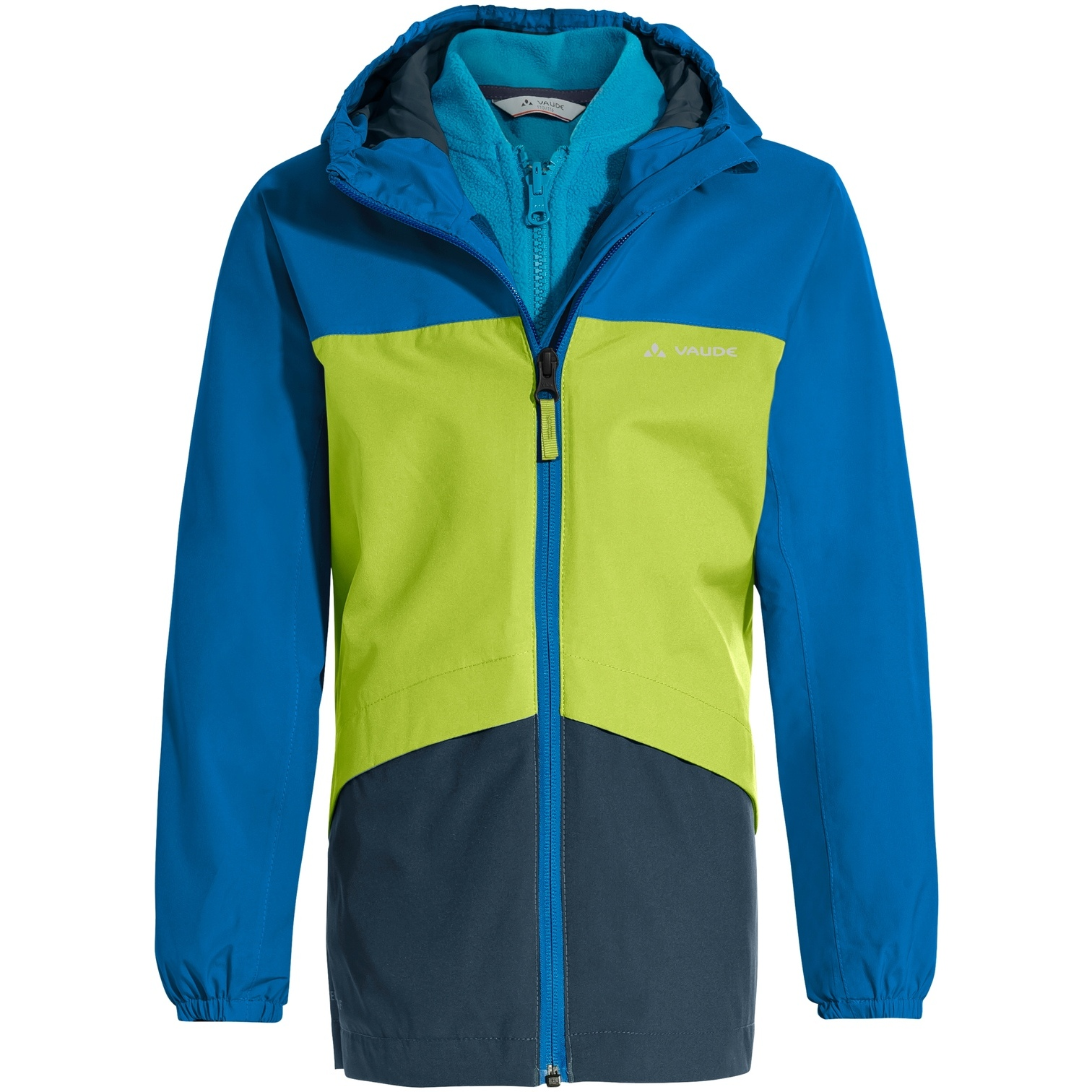Vaude Kids Escape 3in1 Jacket - radiate/green
