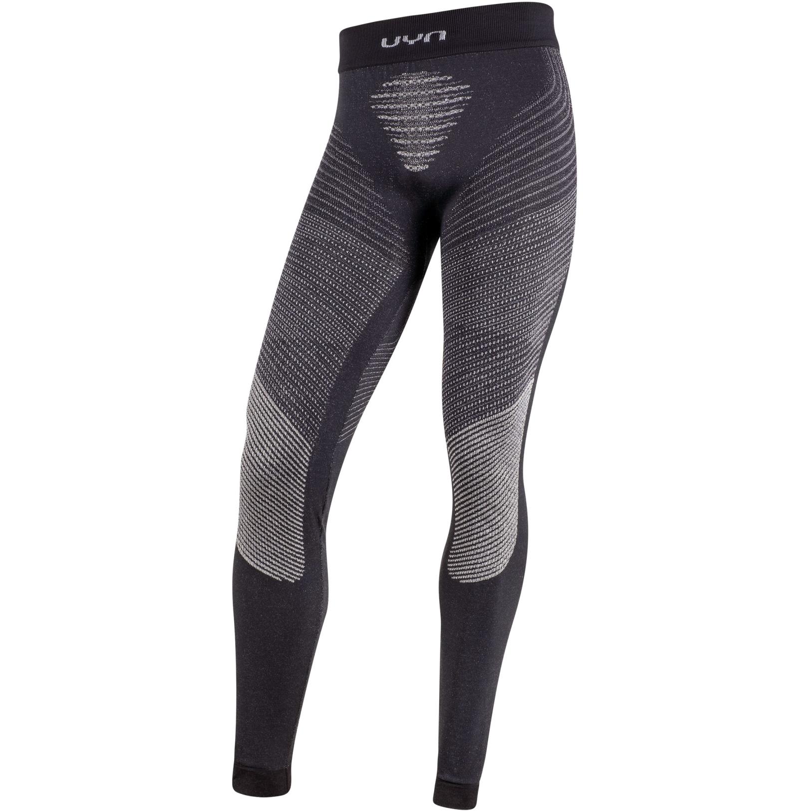Image of UYN Cashmere Shiny 2.0 Man Underwear Pants Long - Celebrity Silver