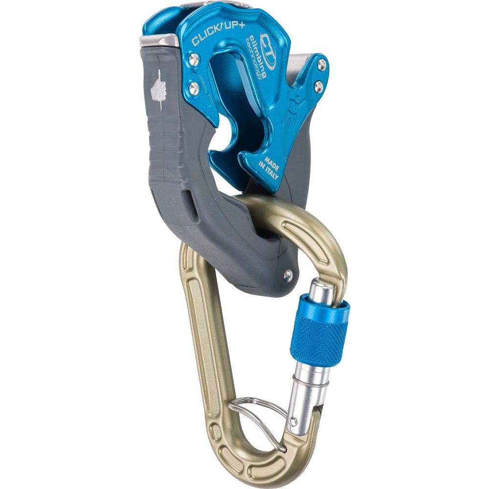 Climbing Technology Click Up + Belay Device - blue
