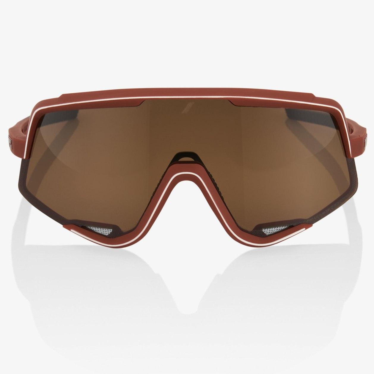Imagen de 100% Glendale Glasses - Soft Tact Bordeaux/Soft Bronze + Clear