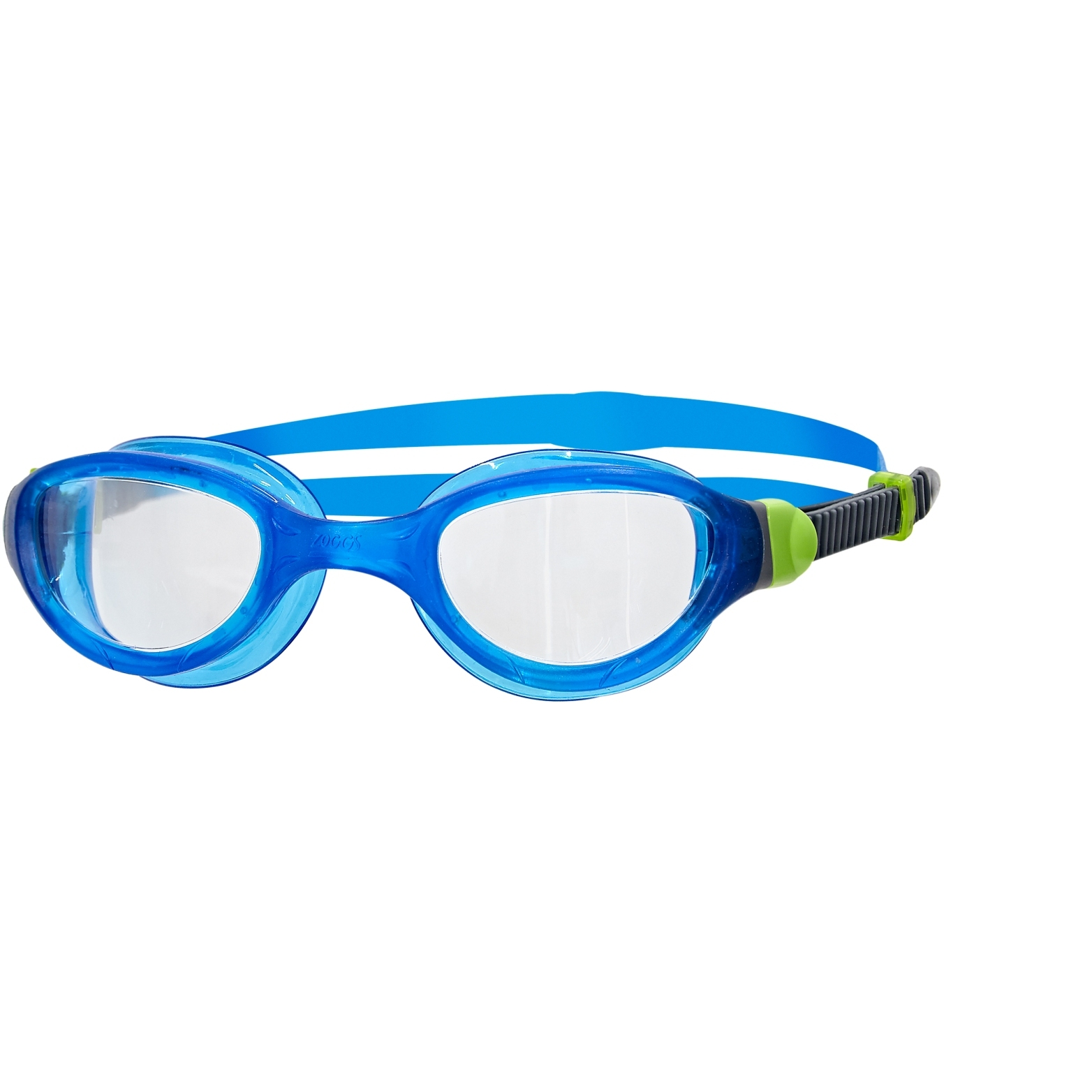 Zoggs Phantom 2.0 Schwimmbrille - translucent blue/green/clear