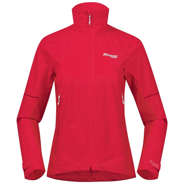 Image of Bergans Slingsby LT Softshell Women's Jacket - Strawberry/White