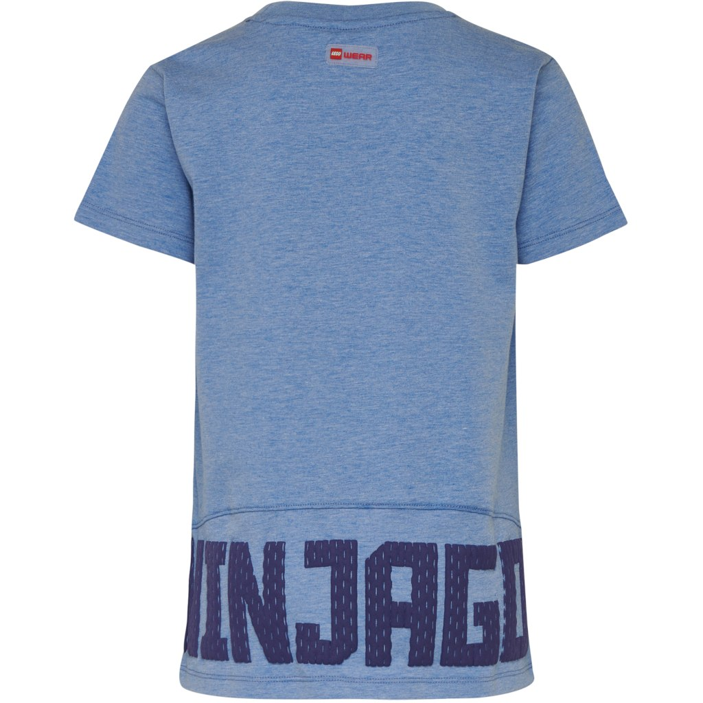 Image of LEGO Wear Tiger 332 – LEGO NINJAGO boys T-shirt - blue