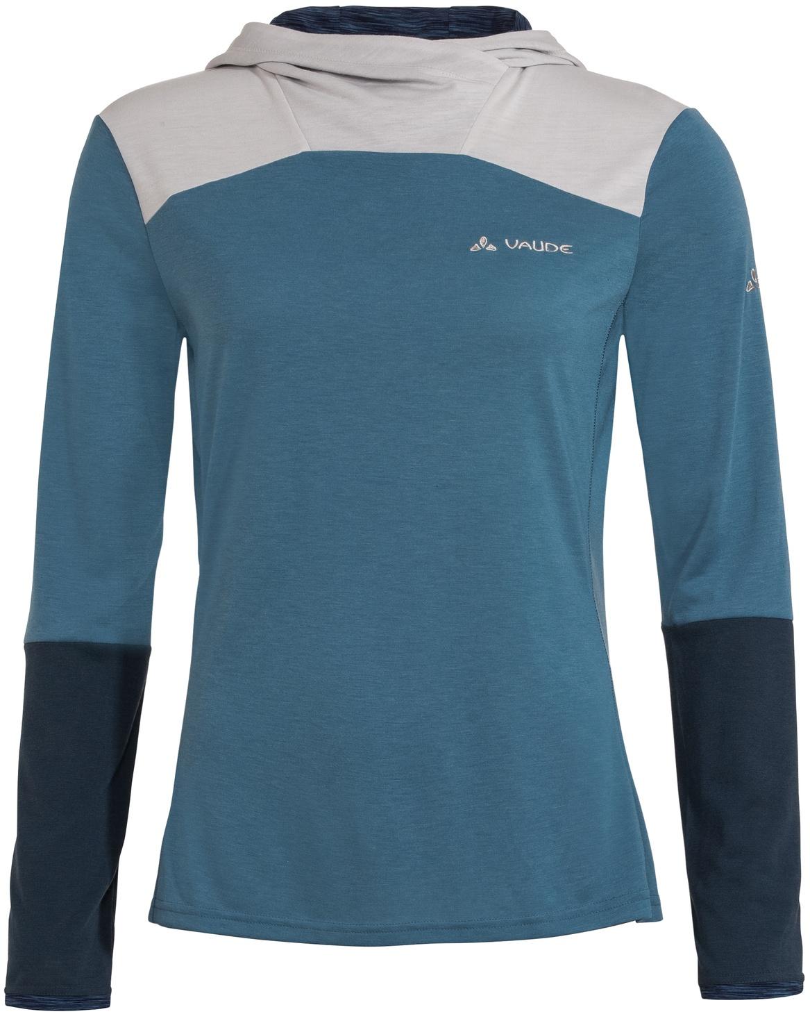 Foto de Vaude Tremalzo Camiseta de manga larga para mujer - blue gray