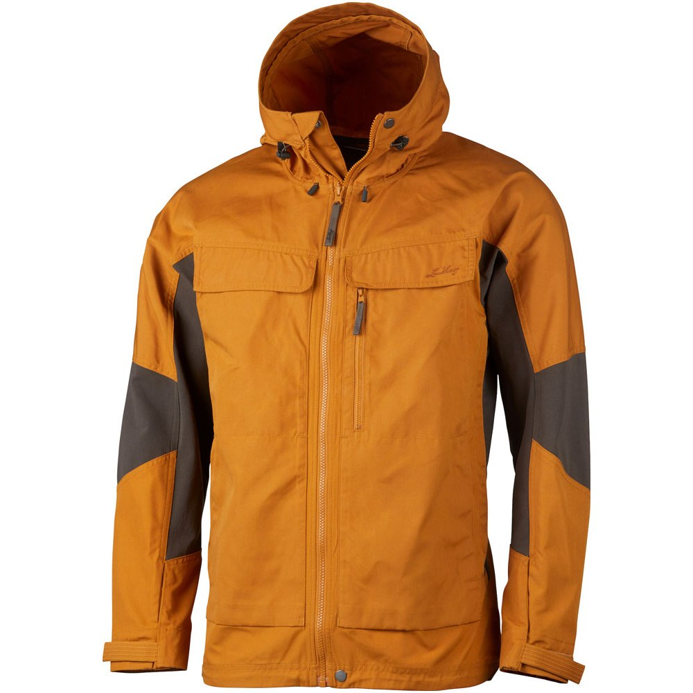 Lundhags Authentic Trekking Jacket - Dark Gold/Tea Green 216